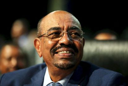 El presidente sudanés Omar al-Bashir en la cumbre de la Unión Africana.