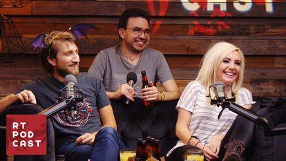 Imagen promocional del podcast' estadounidense 'Rooster Teeth', que combina audio y vídeo en Spotify.