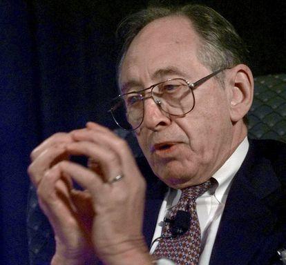 Alvin Toffler, en 1998.