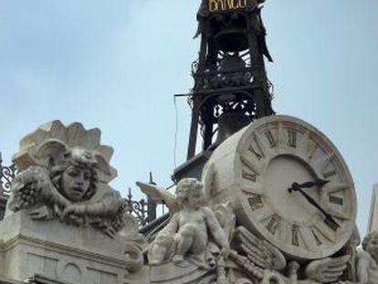 Reloj del Banco de España.