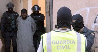 Mustafa Al Lal Mohamed, detenido en Melilla en mayo.