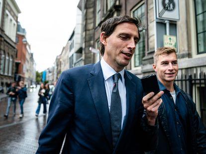 El ministro holandés de Finanzas, Wopke Hoekstra, a finales de septiembre en La Haya.
