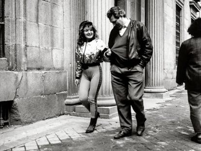 'Calle Atocha, 1991', una de las imágenes que forma parte del libro 'Madrid en plata'.