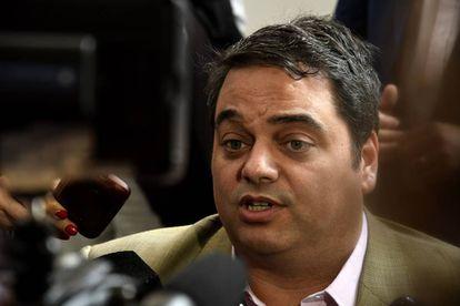El ministro argentino de Trabajo, Jorge Triaca, en una foto de archivo.