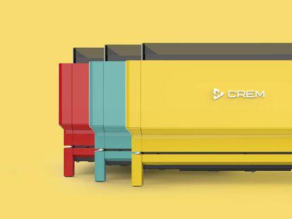 Máquina de café EX3 de Nacar Design para Crem.