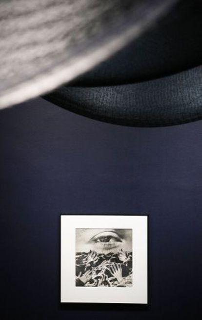 'El ojo eterno' (1950), fotomontaje de Grete Stern, expuesto en la Fundación Juan March.