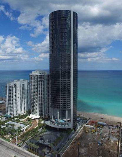La Torre Porsche en Miami Beach.
