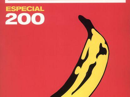 Portada de 'Rockdelux' del número 200, la más vendida en sus 35 años de historia.