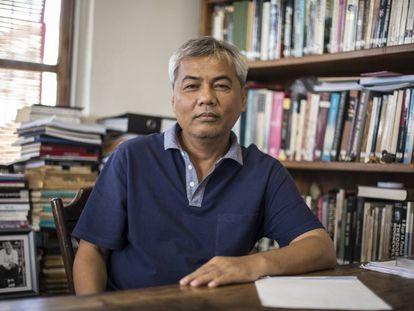Youk Chhang, víctima de los Jemeres y director del Centro de Documentación de Camboya.