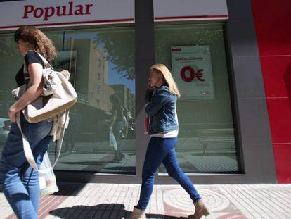 Sucursal Banco Popular en Madrid. Alvaro Garcia.