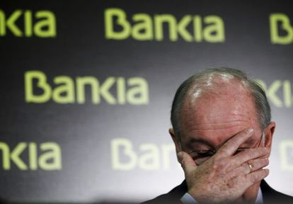 El expresidente de Bankia, Rodrigo Rato