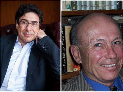 Los economistas Philippe Aghion y Peter Howitt