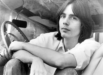 The singer in the early seventies, when he published his first album.