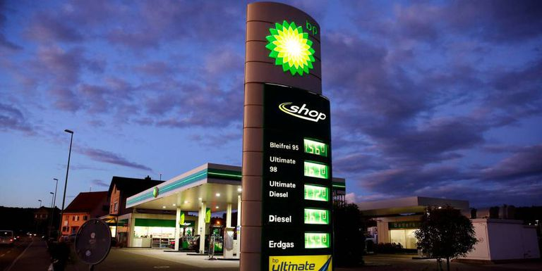 Gasolinera de BP en Kloten (Suiza), en una foto de archivo.