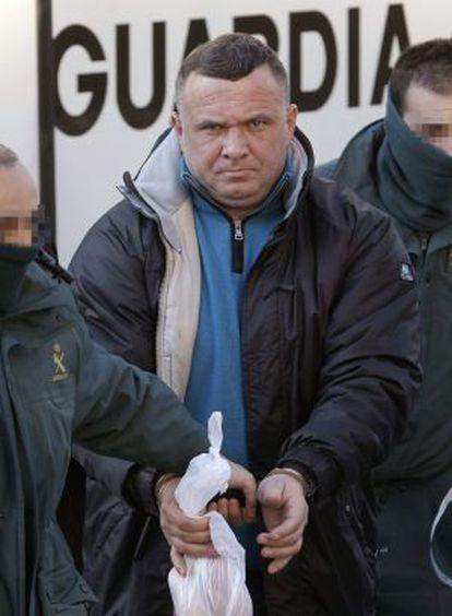 Ioan Clamparu, a su llegada a la Audiencia Provincial de Madrid.