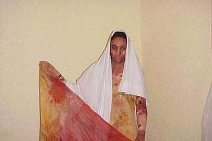 Aminatu Haidar, el pasado junio.