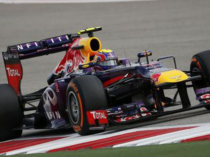 Webber, rodando en Austin.
