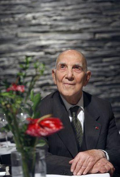 El escritor y diplomático Stéphane Hessel.