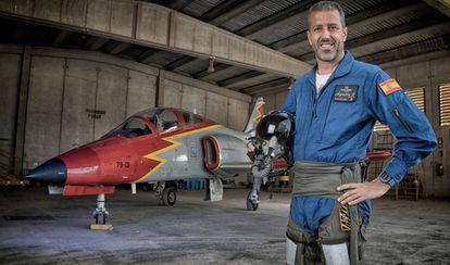 El comandante Eduardo Fermín Garvalena. La foto es de la web de la Patrulla Águila.
