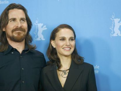 Christian Bale y Natalie Portman, en la Berlinale.