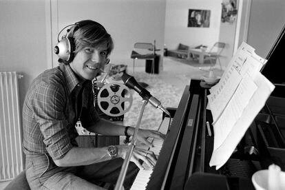 Patrick Juvet at, in Francia in 1972.