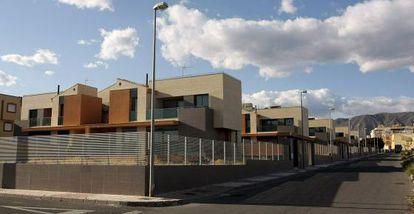 Viviendas cuya licencia investigan los juzgados de Almería.
