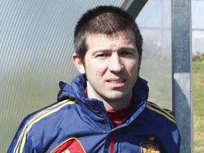 Albert Celades, nuevo técnico de la selección sub-21.