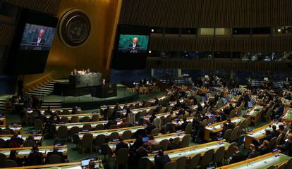 Sede de Naciones Unidas en Nueva York, Estados Unidos, el 27 de abril del 2015.