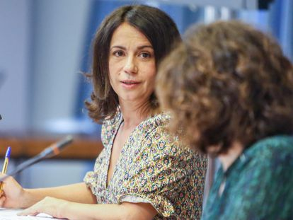 La secretaria de Estado de Sanidad, Silvia Calzón.