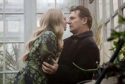 Amanda Seyfried y Liam Neeson, en <i>Chloe.</i>