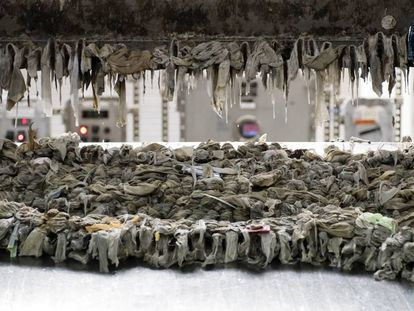 La invasión de las toallitas húmedas en Nueva York