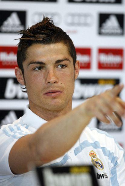 Cristiano Ronaldo, durante una rueda de prensa el día antes del partido entre el Real Madrid y el Barça.