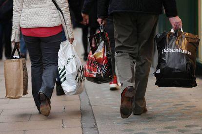 Compras navideñas en Londres