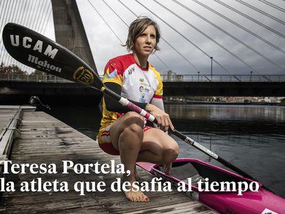 Dvd 972 (29/10/19) Teresa Portela, piraguista que se va a presentar a sus sextos juegos olímpicos. © Carlos Rosillo
