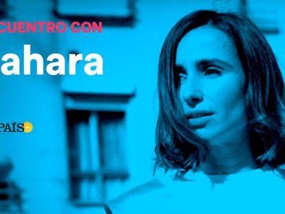 La cantante Zahara presenta su disco 'Puta' a un grupo de lectores de EL PAÍS.