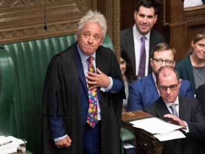 La tradicional ceremonia de clausura del Parlamento británico se convirtió en un acto de protesta