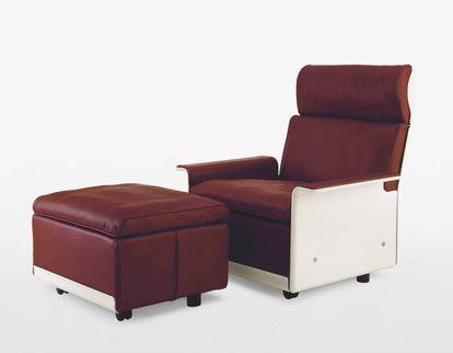 Butaca 620 modular, diseñada en 1962.