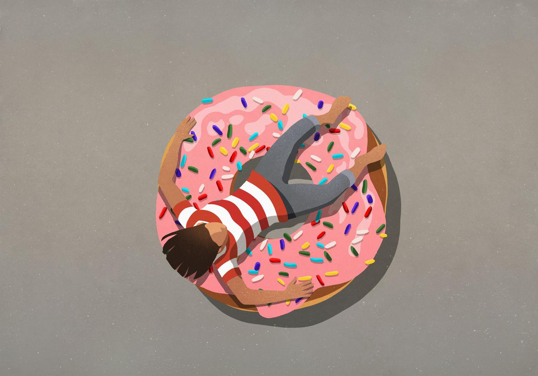 Puedes desinflar un flotador, pero no el cuerpo: lo que quieres es perder grasa.