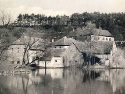 El castillo de los Pölnitz, en Aschbach, donde Gurlitt se retiró con su familia al final de la II Guerra Mundial.