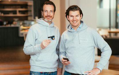 Valentin Stalf y Maximilian Tayentha, fundadores de la startup Number 26.
