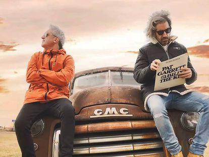 Jon Sistiaga, a la izquierda, y Joe Pérez-Orive, en una imagen promocional del programa 'Jon & Joe'.
