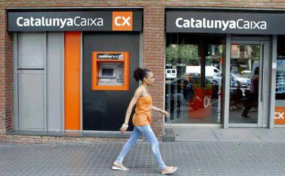 Una oficina de Catalunya Banc.