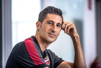 Juan Miguel Bernat, responsable del departamento de Psicología de Alto Rendimiento del Levante UD.