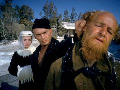 Fotograma de la versión cinematográfica de Richard Brooks de 'Los hermanos Karamázov'.