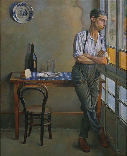 'La galería', de Feliu Elias (1928), en el MNAC.
