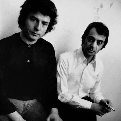 Enrique Morente y Pepe Habichuela, fotografiados por el productor Mario Pacheco en 1977.