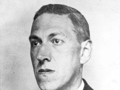 El escritor H. P. Lovecraft.