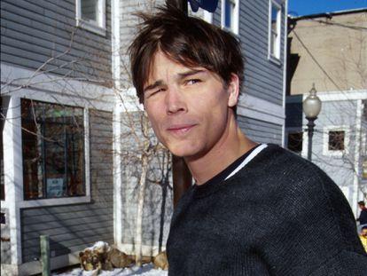 Josh Hartnett, fotografiado en el festival de Sundance en el año 2000.