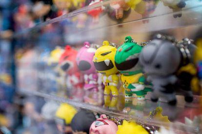 Los beneficios en ventas de juguetes y 'merchandising' de los Power Rangers se calculan, actualmente, en unos 6.000 millones de dólares.