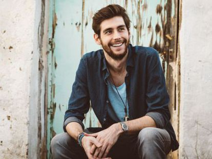 Álvaro Soler, en una fotografía de promoción de la discográfica.